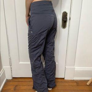 Lululemon Gray Full Length Wind Breaker Pants